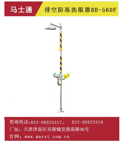 排空防冻型洗眼器BD-560F